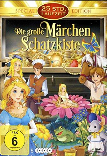 Die große Märchen Schatzkiste (25 Zeichentrickfilme + kpl. TV Serie Little Cars) [6 DVDs]
