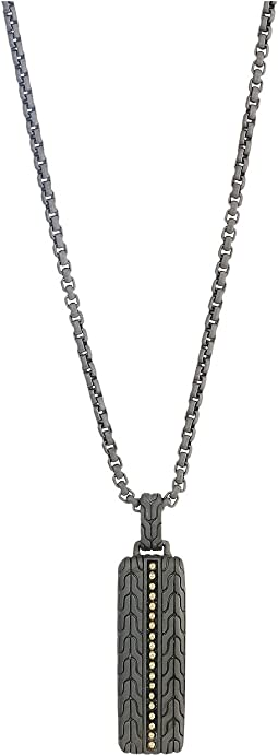 Chain Jawan Pendant Necklace