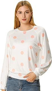 pink polka dot blouse