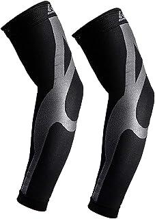 B-Driven Sports Enhanced Graduated Compression Arm Sleeve - 20-30mmHG Medical Grade Compression | 1 Sleeve