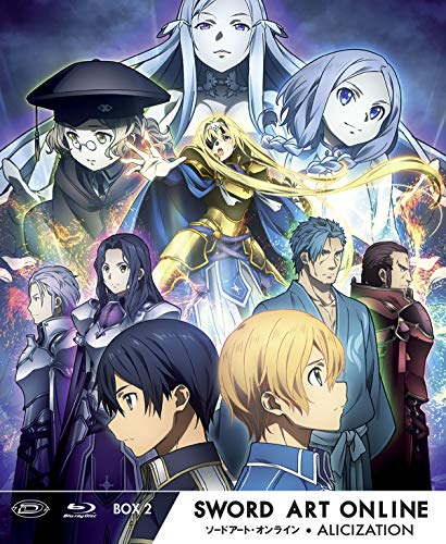 Sword Art Online III Alicization - Limited Edition Box #02 (Eps 13-24) (3 Blu-Ray) (1 BLU-RAY)
