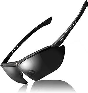 theMODE スポーツ サングラス メンズ 偏光レンズ 交換レンズ 5種類付き