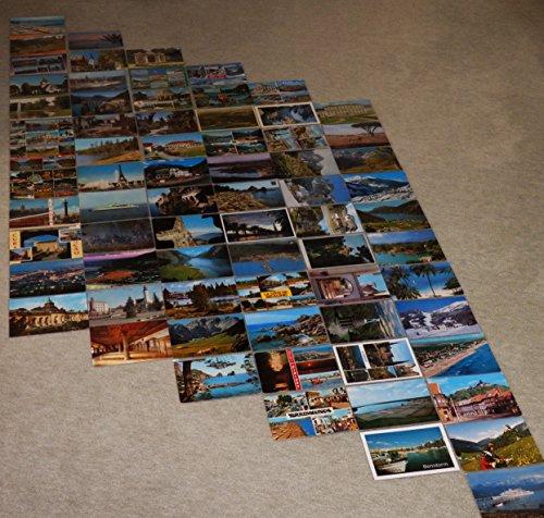72 x cubiertas transparentes en 6 x Leporello con 12 piezas de PVC en fila para insertar lateralmente, armónica de dibujo de imagen para postales / fotos 10,5x15,0 cm = 4x6 pulgadas transparente