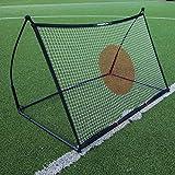 QUICKPLAY Spot Ziel Fußball Rebounder 1,5 x 1M - Jetzt mit kostenloser eCOACH Trainings App