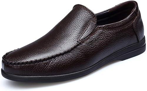 Leder Stiefel Schuhe Herren Rutschfeste Fahr Schuhe