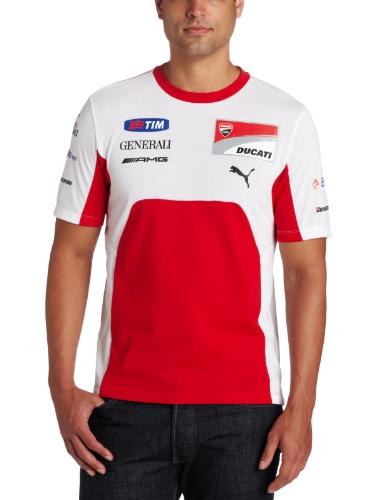 PUMA Ducati Team T-Shirt für Herren - Rot - XX-Large