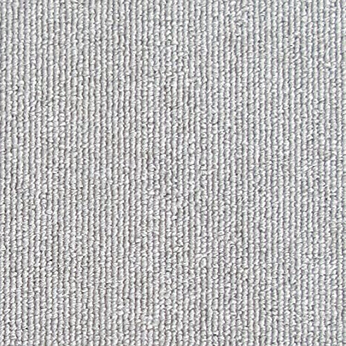 WXHXSRJ Alfombra de Patchwork, Alfombra de Piso para Sala de Estar, Dormitorio, Oficina, 50 * 50 cm,Light Gray