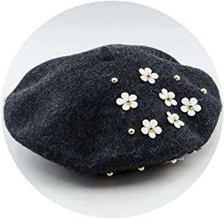 Wension Girl Baseball Cap Summer Adjustable Flower with Lace Rhinestone Denim Baseball Mesh Cap