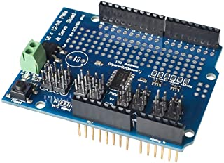 HiLetgo PCA9685 Servo Shield PCA9685 16 Channel 12-bit PWM Servo Driver Shield I2C Interface for Arduino