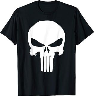 Marvel Punisher Classic Skull Symbol Graphic T-Shirt T-Shirt