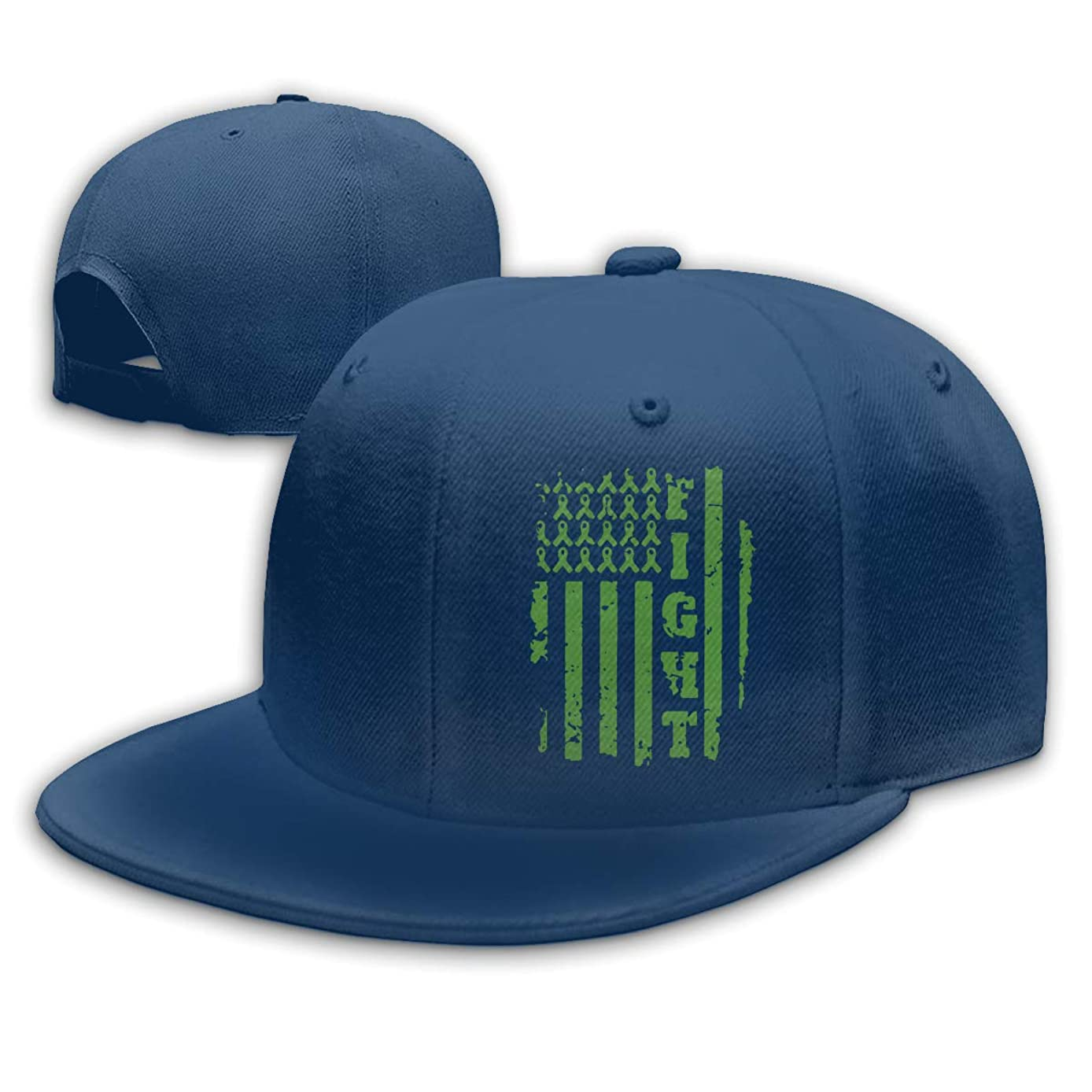Bile Duct Cancer Awareness Mens Womens Adjustable Plain Baseball Cap Dad Hat