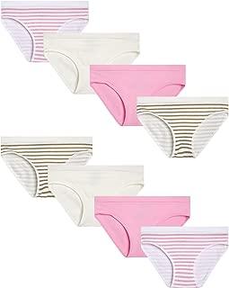 Girls' Seamless Bikini Underwear Panties (8 Pack)