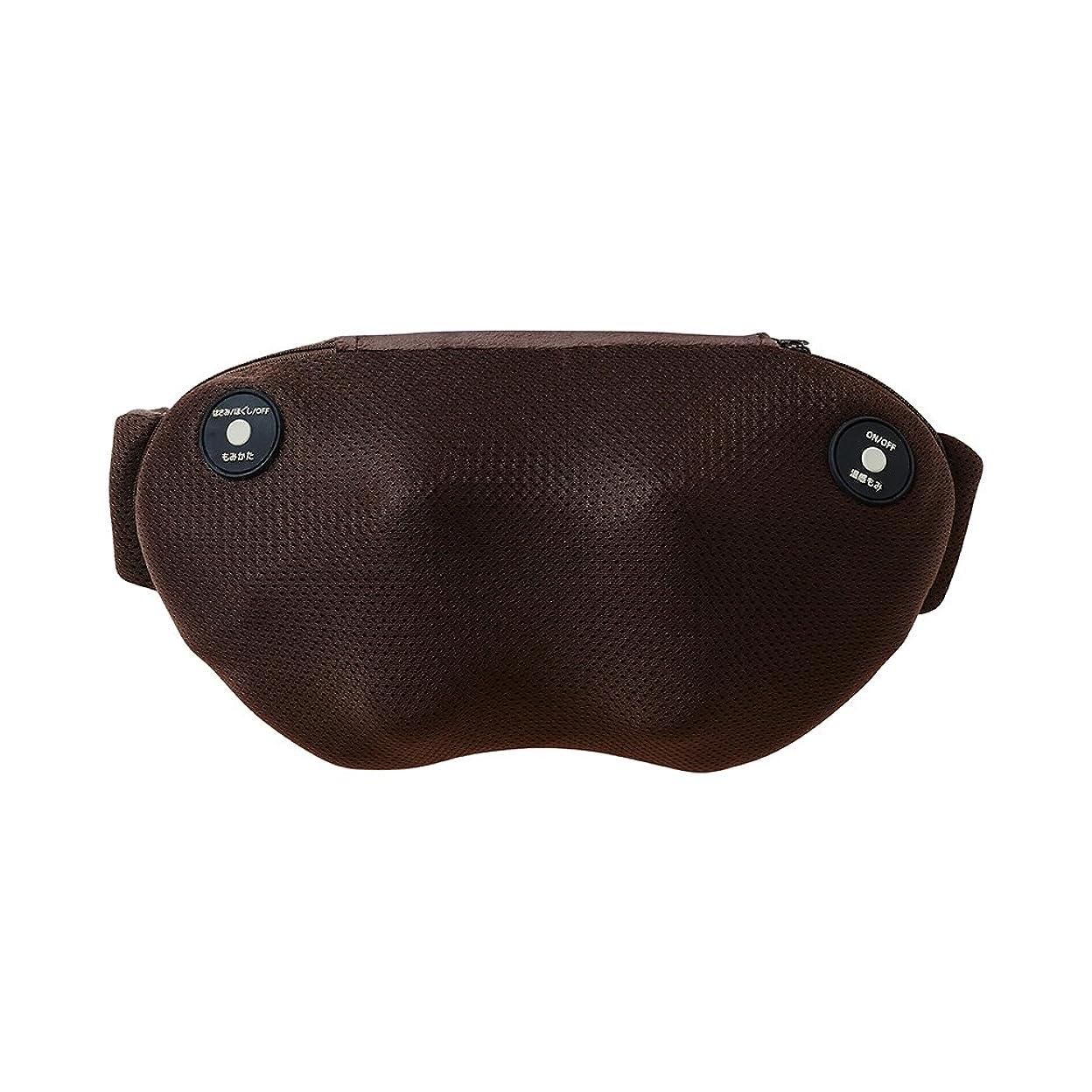 トチの実の木奪う歯科のドウシシャ マッサージ器 首 肩 腰 腕 もみラックス4 ブラウン DPM-1601 BR