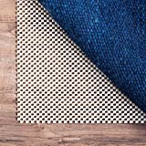 Linenspa Ultra Grip Non Slip Rug Pad - Heavy Duty Area Rug Gripper for Any Floor Surface - 8 x 10 Feet
