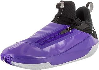 e8bd0f3223b5 Jordan Nike Men s Jumpman Hustle Dark Concord White Black Basketball Shoe  10 Men US