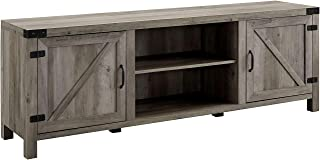 barn door tv stand 70 inch
