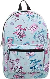 The Golden Girls 80s Retro Allover Laptop Backpack Bag