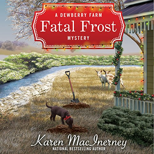Fatal Frost audiobook cover art