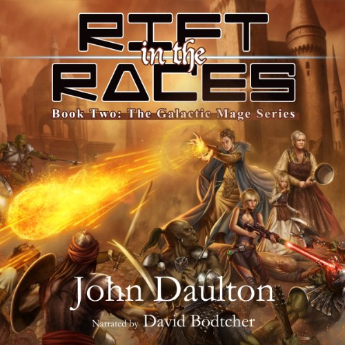 Rift in the Races audiobook cover art