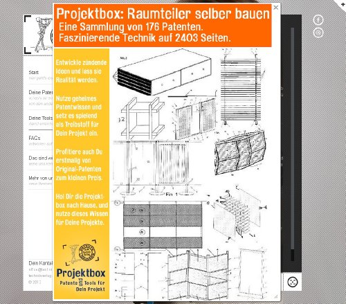 Raumteiler selber bauen: Deine Projektbox inkl. 176 Original-Patenten bringt Dich mit Spaß ans Ziel!