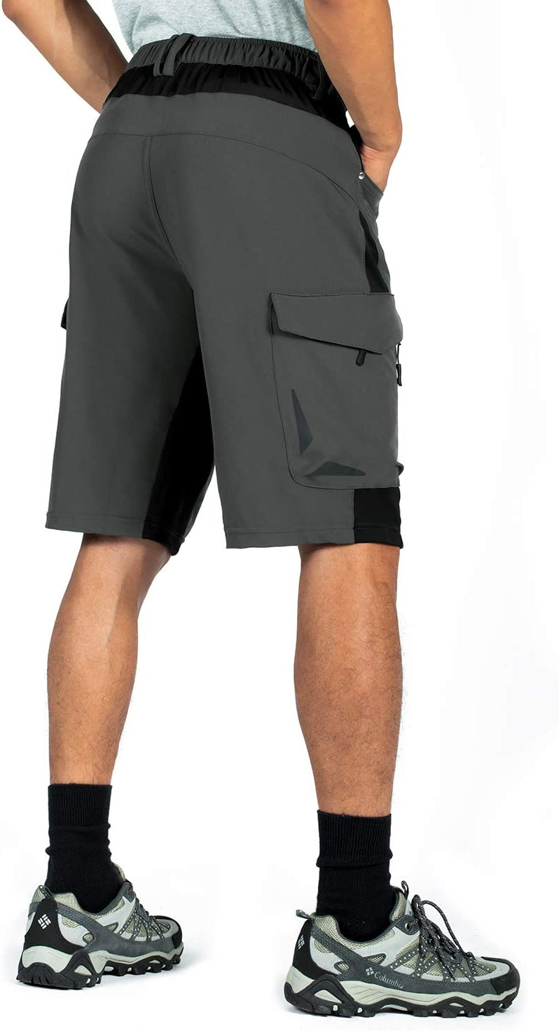 Travel with 6 Pockets Camping XKTTAC Mens Outdoor Quick Dry Lightweight Stretchy Shorts for Hiking