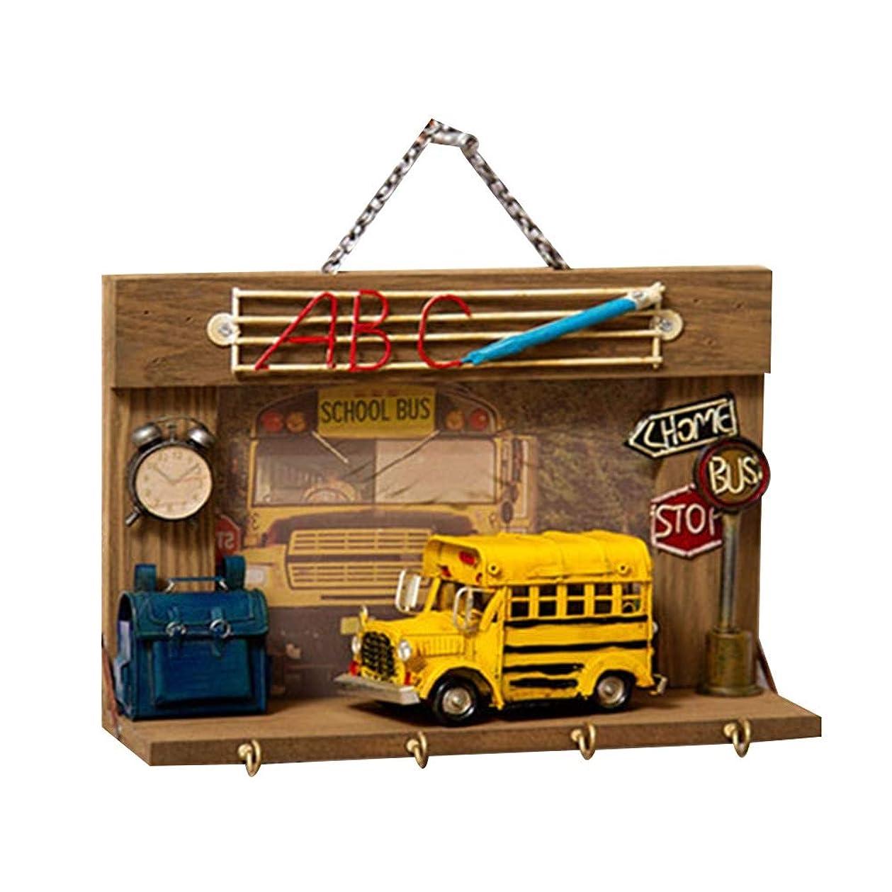 名前を作るグラムルビーJIAYING ハンガーラック 壁掛け式コートラック、4つのメタルフックと1つの棚付きの木製ハットラック玄関用バスルームオーガナイザー、衣服、帽子、スカーフとパラソル用 (色 : 1002)