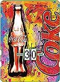 Calendario perpetuo de Coca-Cola: publicidad vintage Coke en graffitis