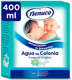 Nenuco Agua de Colonia recomendado para bebés fragancia original - formato de cristal 400 ml (61014)