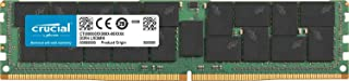 Crucial Technology 64GB 288-Pin LRDIMM DDR4 (PC4-21300) Memory Module, Cl=19, Load Reduced, 2666 MT/S Speed, ECC, 1.2V, Quad Ranked, X4 Based