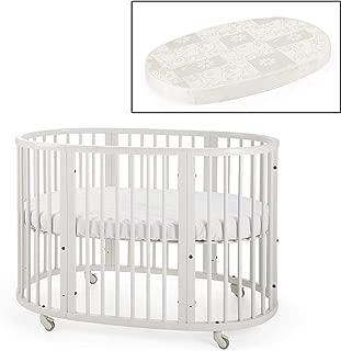 Stokke Sleepi Crib and Matress Bundle, White