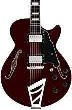 D'Angelico Premier SS Semi-Hollow Electric Guitar w/ Stairstep Tailpiece - Trans Wine