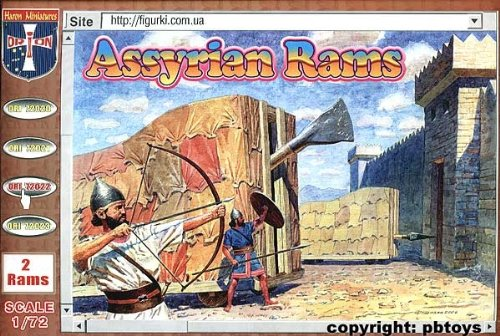 ORION ori72022 – Assyrian Rams, Plastique Modélisme