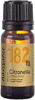Naissance Aceite Esencial de Citronela n. º 182-10ml - 100% puro, vegano y no OGM