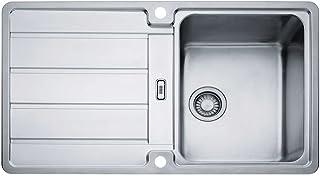 Franke Küchen-Spüle Hydros HDX 614 101.0303.619 - Edelstahl