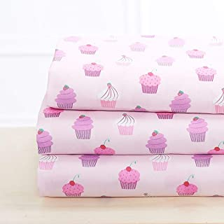cupcake kids bedding