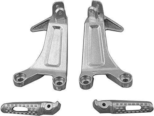 new arrival Mallofusa Aluminum Motorcycle Rear Foot Pegs Footrests Compatible for HONDA CBR600RR high quality new arrival F5 2003 2004 outlet sale