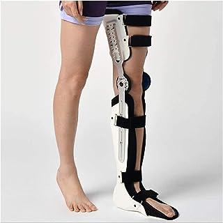 Muslo de la rodilla articulación del tobillo del pie y el tobillo Spport fijador, Rodilla Tobillo Pie Ortesis, Rodilla Bra...