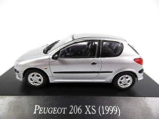 OPO 10   Peugeot 206 XS (1999) Salvat 1/43 (AR60)