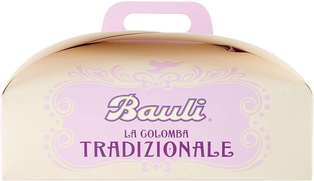 Bauli,colomba tradizionale pasquale artigianale,in confezione regalo,1 kg