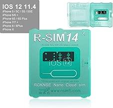 R-SIM14 V18 SIM Nano Unlock Card Case Holder Fully Automatic Unlock with ICCD Unlock Program for iPhone Xs MAX/XR/X/6/7/8/Plus