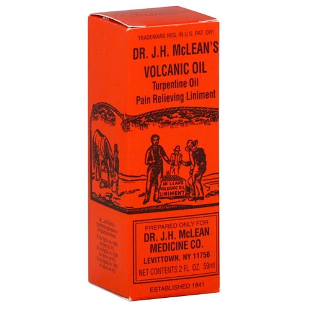 Dr McLean's Volcanic Oil Pain Relieving Liniment, 2 Ounces