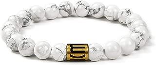 Natural Gem Semi Precious Womens Mens Stretch Bracelet, Genuine Energy Crystal Gemstone Beads Classic Simple Design 8mm