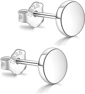 low profile stud earrings