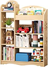 Jcnfa-Shelves Bookshelf Display Stand Library Shelf Combination Multi-Layer Children's Bookcase Solid Wood, Living Room Bedroom