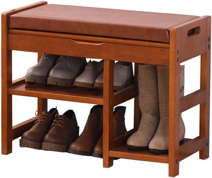 JXSHQS European Shoe Bench Shoes M Max 83% OFF Wood Storage Test Excellent Stool