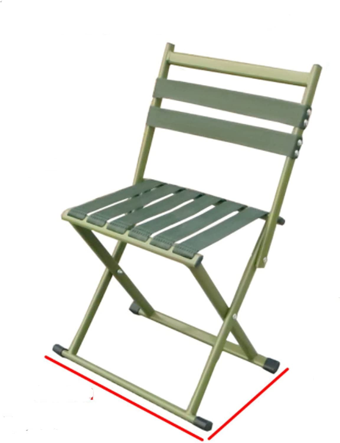 Small Folding Bargain Camping Chair Limited time cheap sale Seat P Stainless Metal Steel Comfort
