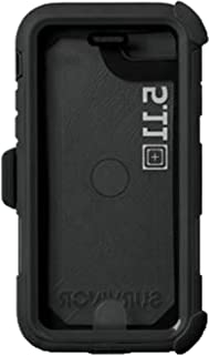5.11 Tactical Griffin Survivor iPhone 6/6s/7/8 Extreme Protective Case, Drop Protection, Black, Style 57086