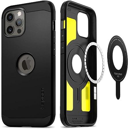 Spigen Tough Armor Mag Designed for iPhone 12 / iPhone 12 Pro Case (2020) - Black