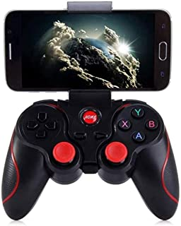 OFAY - Controlador de juegos móvil, inalámbrico, mando de juegos multimedia compatible con Bluetooth, joystick para teléfonos móviles y PC