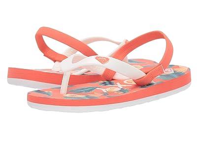 Roxy Kids Tahiti VI (Toddler) (Red Heather) Girls Shoes